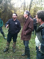 Lord de Mauley visits Wayland Woods in Norfolk
