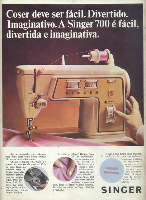 Modas e Bordados, Nº 3080, Fevereiro 17 1971 - contra capa