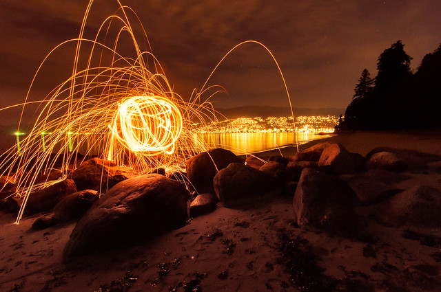 Steel Wool on Third Beach