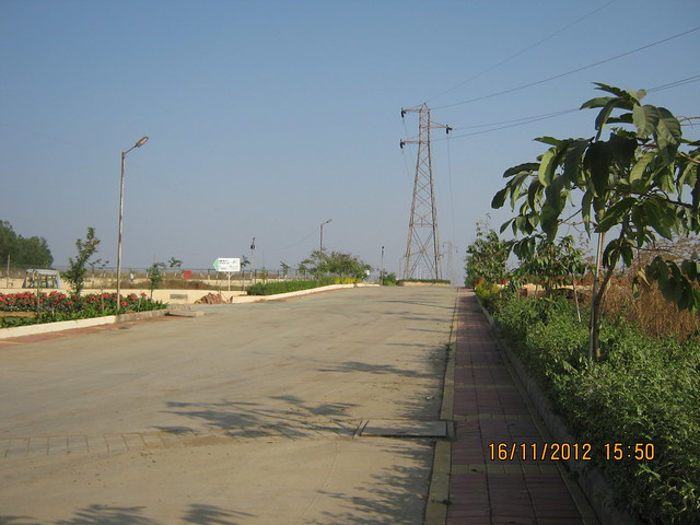 Internal Road of Belleza Bungalow Plots at Kanhe