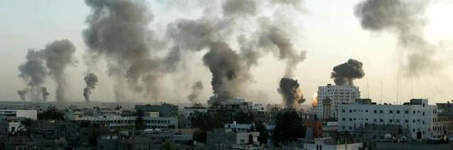 U.S.A., Gran Bretagna, Francia e Germania chiedono il cessate il fuoco. L'Italia non e' stata invitata all'incontro