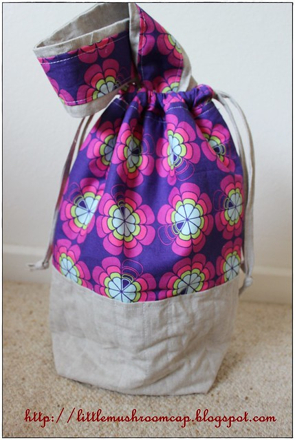 Drawstring Bag With Single Handle1