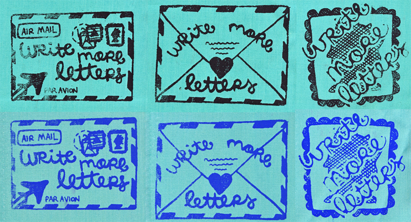 Write more letters patches