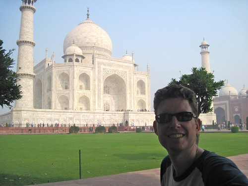 James at the Taj