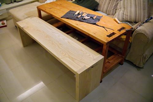 木工 板凳 20121117_7