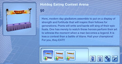 Hotdog Eating Contest Arena