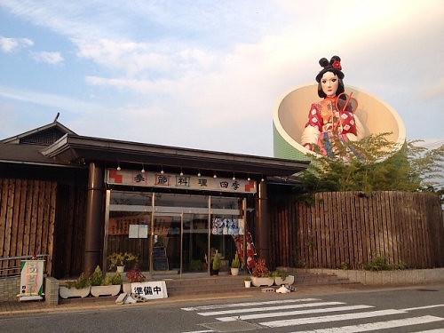 名物『巨大かぐや姫』と不思議な『仏塔』@広陵町