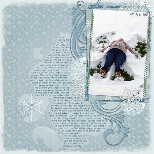 Snow Angel by Lukasmummy