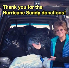 Hurricane Sandy Donations