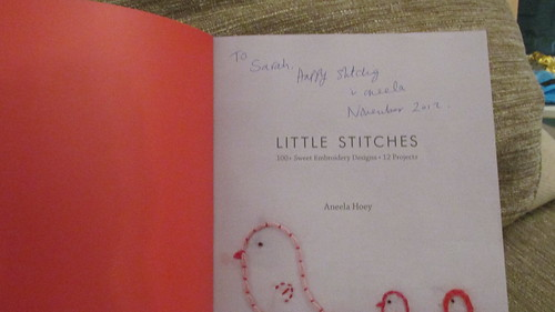 Autographed Little Stitches!