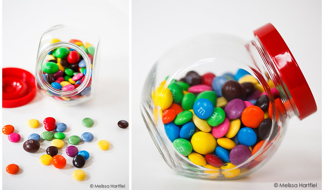 Candy: M&Ms and Smarties