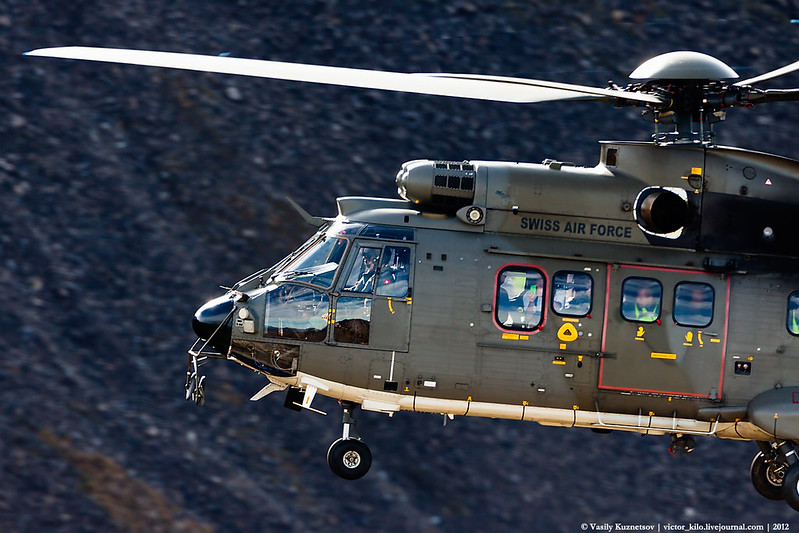 Swiss AF Eurocopter AS532 Cougar T-334