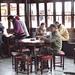 Scène quotidienne de maison de thé en Chine