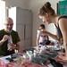 Hugo et Sabrina dégustant les thés verts Tan huong