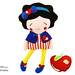 Snow White Sewing Pattern by Dolls And Daydreams