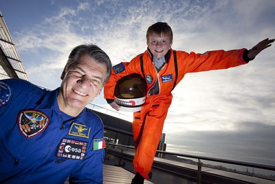 Science Week kids get ready to take off with Paolo Nespoli from ESA