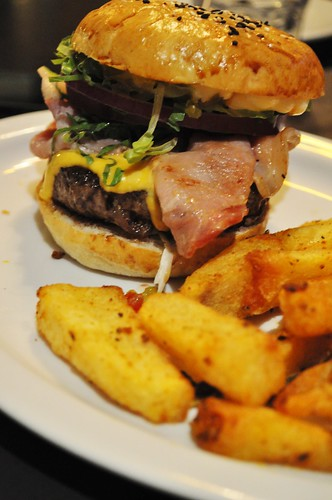 spruce burger