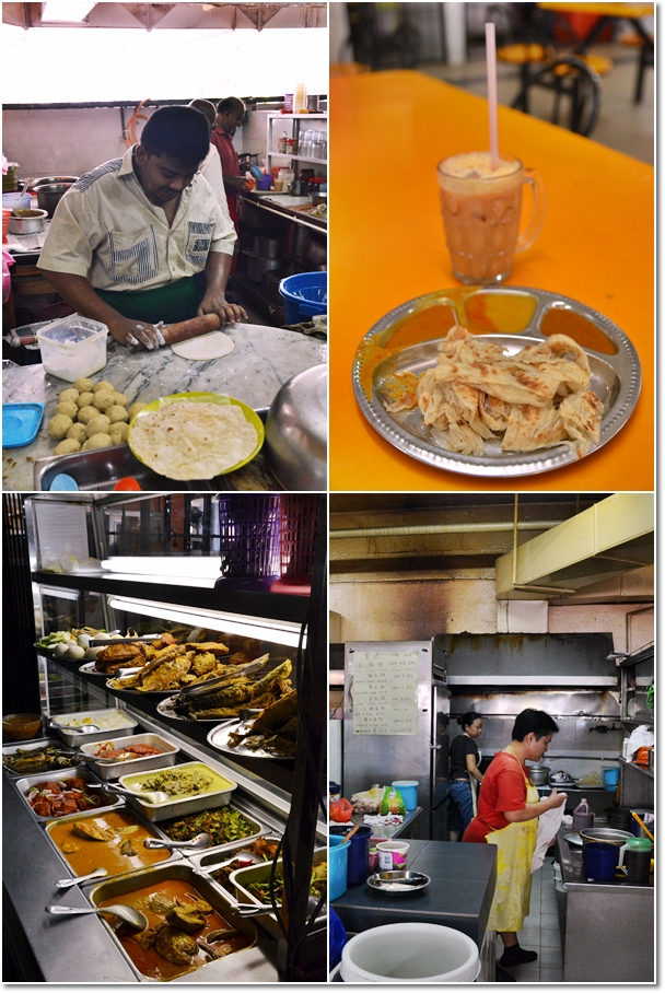 Malay, Chinese & Indian Food