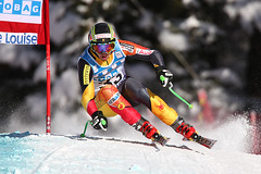 John Kucera during the second downhill training run in Lake Louise (Nov. 2012)