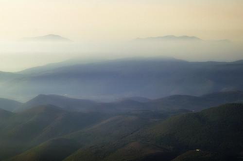 [フリー画像素材] 自然風景, 山, 霧・霞 ID:201212031200