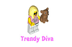 LEGO Minifigures Series 10 - Diva
