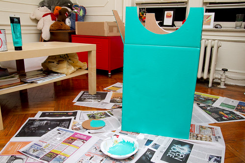 2nd layer of turquoise