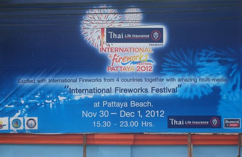 International Fireworks Festival Pattaya 2012