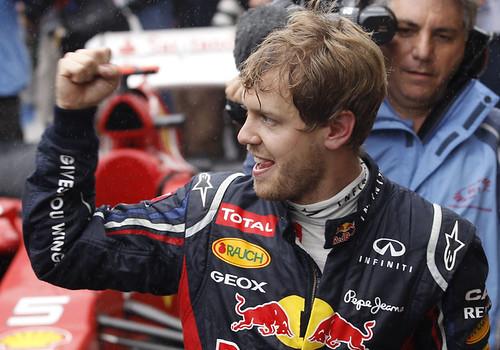 Sebastian Vettel 2012 Formula1 Champion
