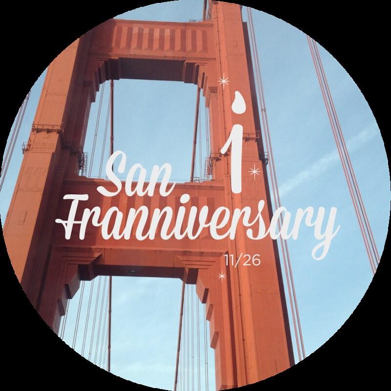San Franniversary