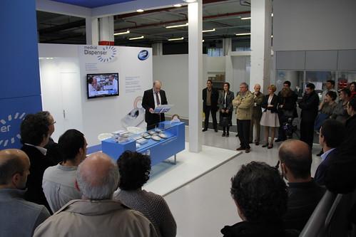 Presentación de Fagor Healthcare, en las instalaciones de la empresa ante cerca de 50 personas.