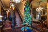 Christmas at the Gaar Mansion Foyer