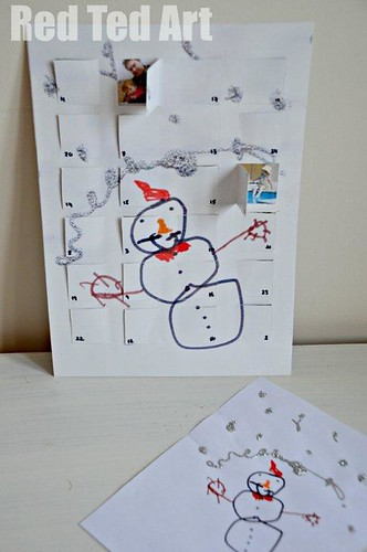 Advent Calendar Art Lesson : Christmas countdown activities