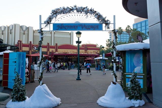 Downtown Disney Holiday Village