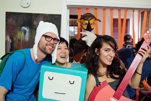 Adventure Time crew