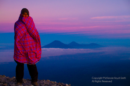 morning travel pink portrait sky mountain man cold travelling sunrise indonesia landscape volcano asia southeastasia view altitude earlymorning freezing peak backpacking journey local distance mckenzie clearsky merapi selo mountaintop wrappedup travelphotography activevolcano mountmerapi mountmarapi mckenziels