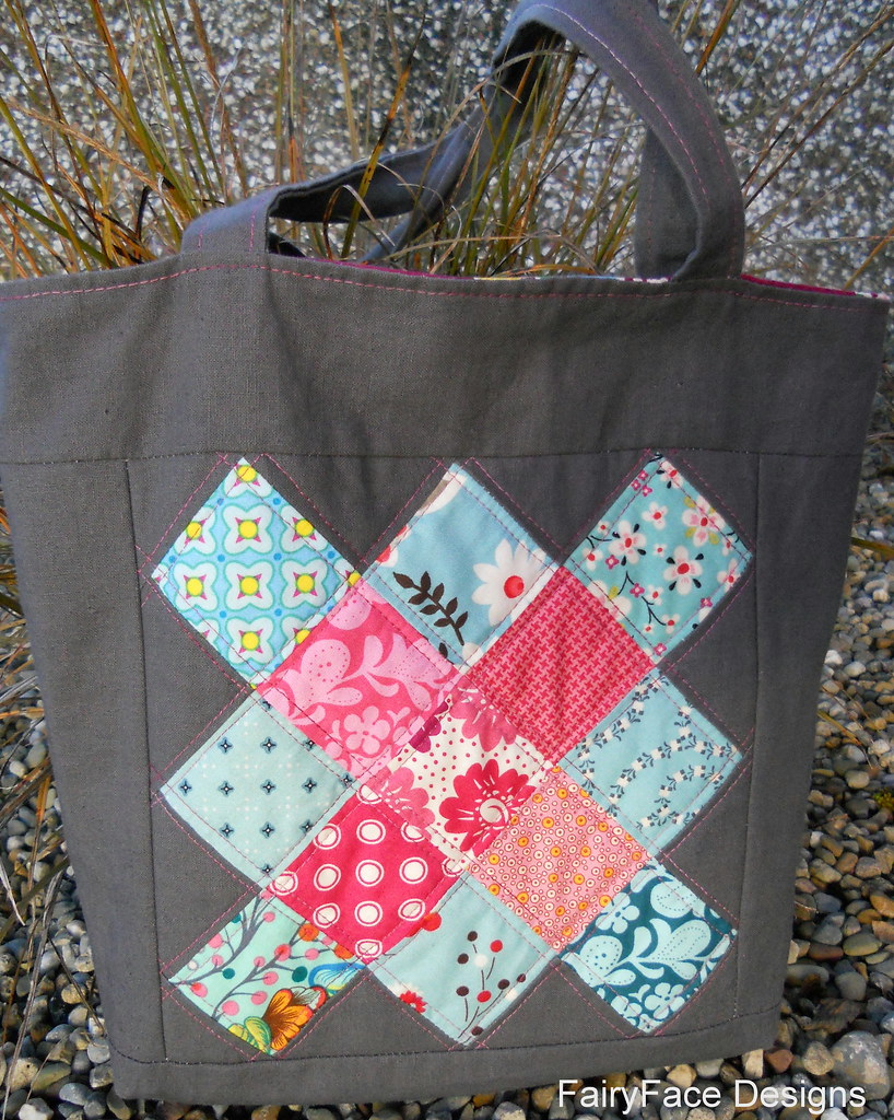 Mouthy stitches bag received