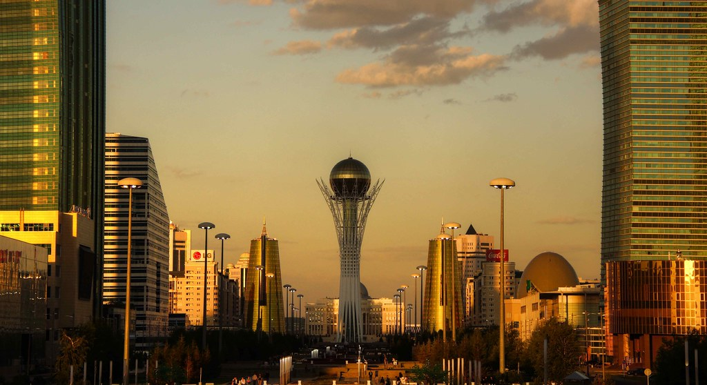 astana golden hour