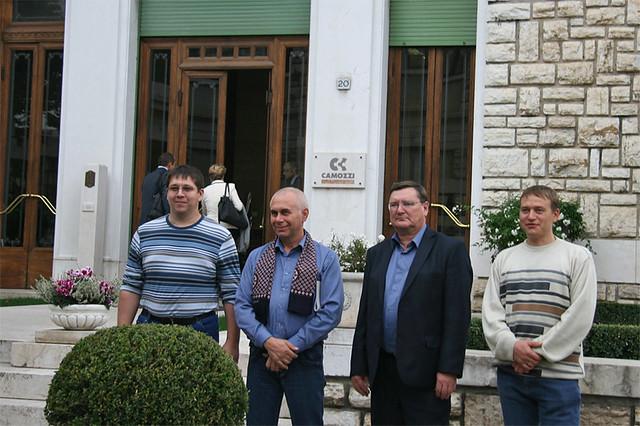 сотрудники Нотиса в Camozzi