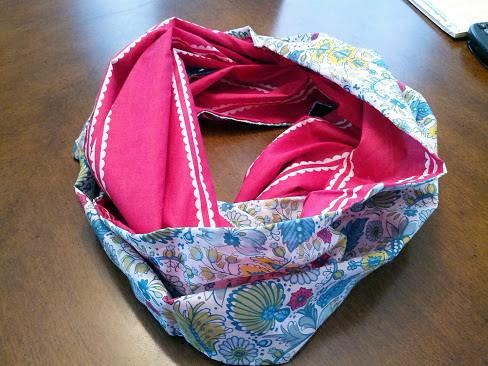 Figure 8 infinity scarf