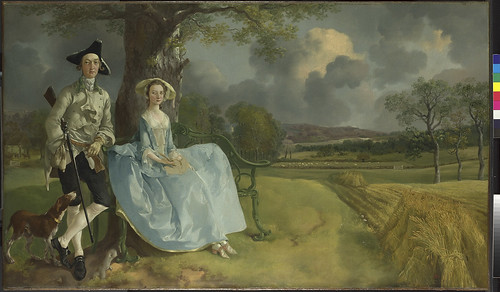 Thomas Gainsborough Mr and Mrs Andrews about 1750 Oil on canvas 69.8 x 119.4 cm