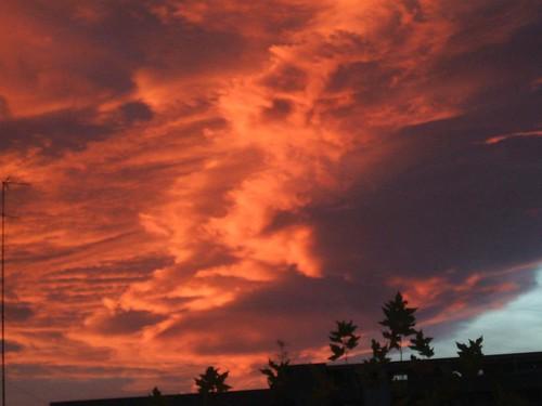 Il vento rosso dell'est! by meteomike