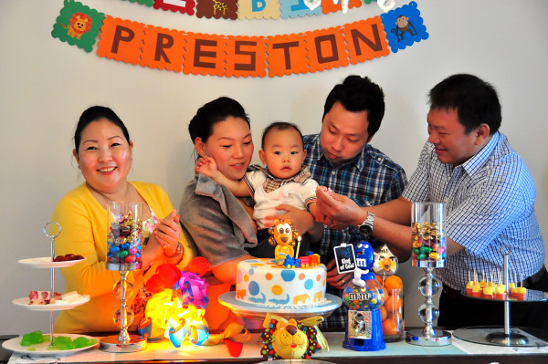 Baby Preston's 1st Birthday Bash