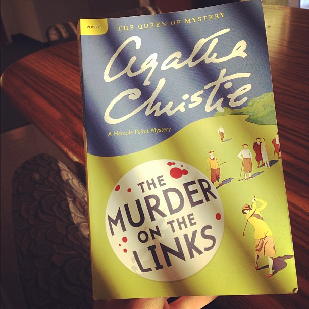 Lunch reading? You're my favorite. #Poirot#2