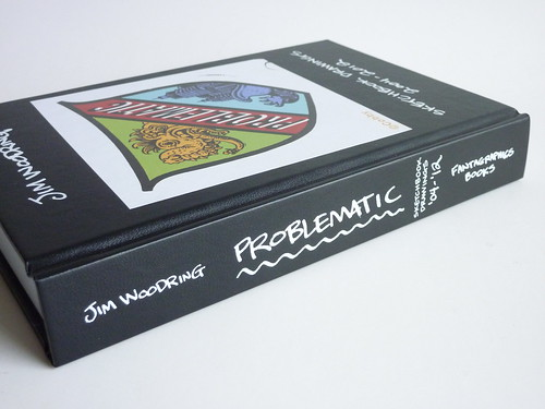 Problematic: Sketchbook Drawings 2004-2012 by Jim Woodring - spine