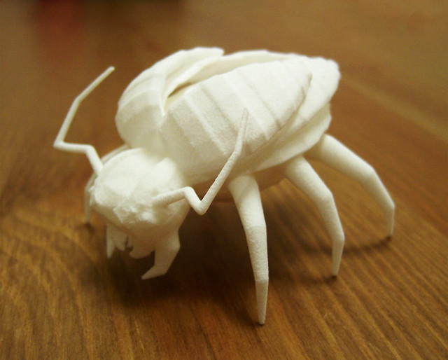 3d print: Low poly insect