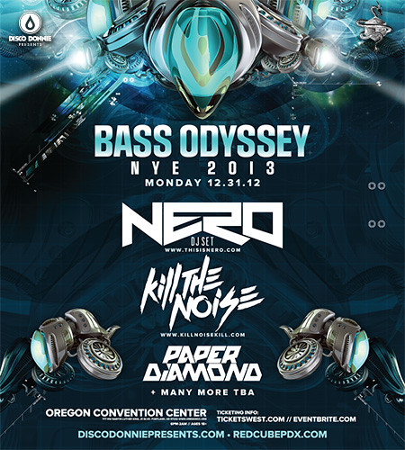 Bass Odyssey Portland New Year's Eve