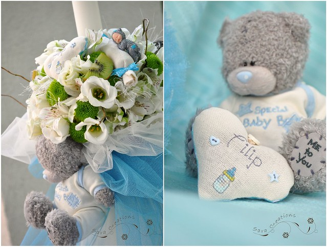 "Lumanare botez - Christening candle "" Me to you """