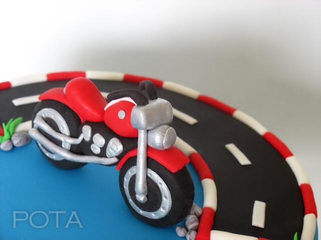 Gâteau Moto