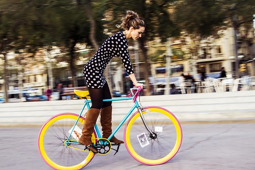 Colorful bike
