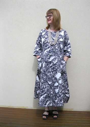 "Tessuti ""Lily"" Dress in fabric from Darn Cheap Fabrics"